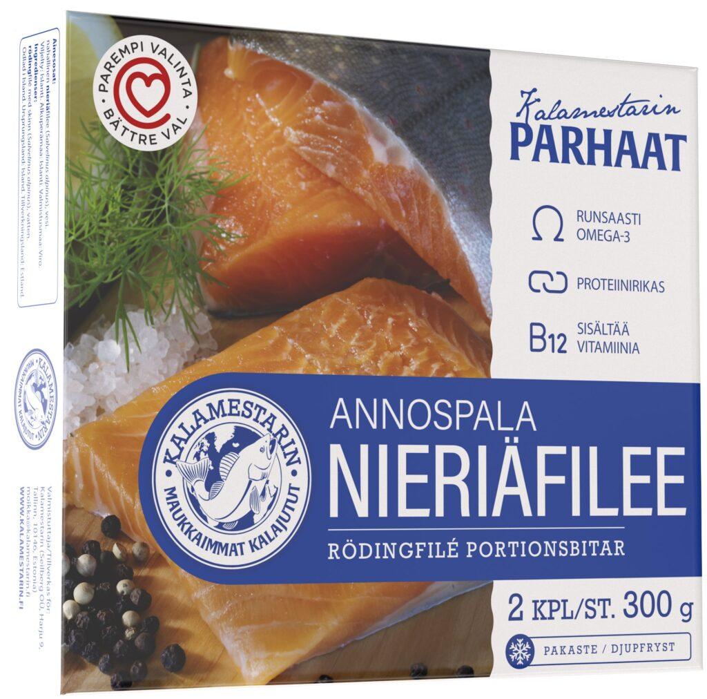 Kalamestarin Nieriäfilee Annospala 300g